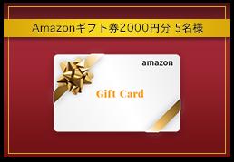Amazonギフト券2000円分 5名様